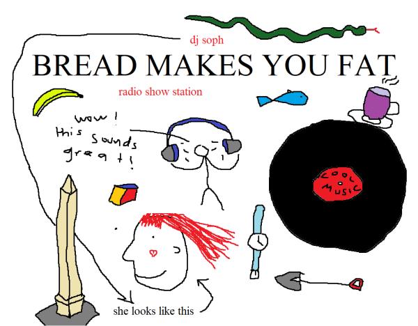 bread makes you fat?!