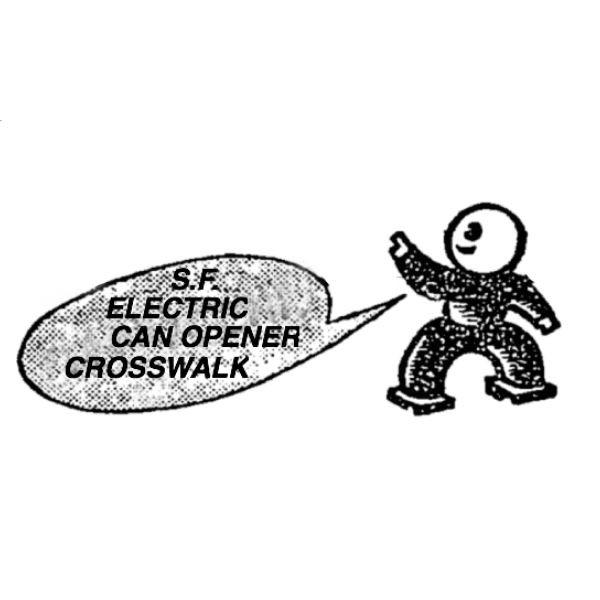 SF ELECTRIC CAN OPENER CROSSWALK