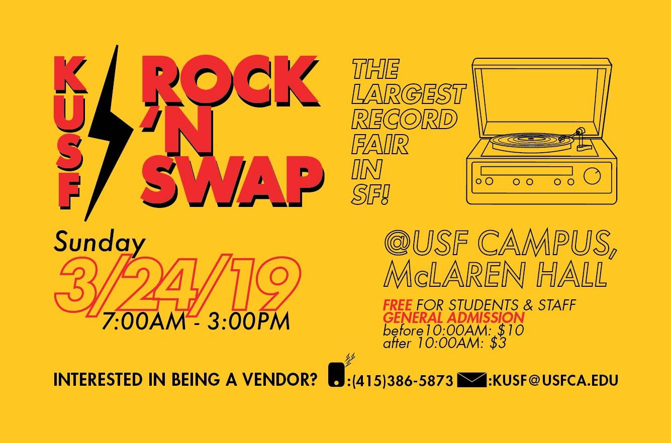 KUSF Rock N' Swap 2018